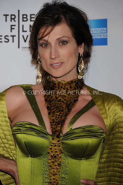 WWW.ACEPIXS.COM . . . . . ....April 22 2009, New York City....Actress Nancy La Scala arriving at the premiere of 'Whatever Works' during the 2009 Tribeca Film Festival at Ziegfeld on April 22, 2009 in New York City.....Please byline: KRISTIN CALLAHAN - ACEPIXS.COM.. . . . . . ..Ace Pictures, Inc:  ..tel: (212) 243 8787 or (646) 769 0430..e-mail: info@acepixs.com..web: http://www.acepixs.com