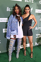 NEW YORK, NY - AUGUST 16, 2016 Sevyn Streeter & Julissa Bermudez attend the Radio One: The Blitz Music Showcase at Stage 48 August 16, 2016 in New York City. Photo Credit: Walik Goshorn / Mediapunch