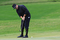 Joel Sjoholm (SWE) on the 4th green during Round 3 of the Challenge Tour Grand Final 2019 at Club de Golf Alcanada, Port d'Alcúdia, Mallorca, Spain on Saturday 9th November 2019.<br /> Picture:  Thos Caffrey / Golffile<br /> <br /> All photo usage must carry mandatory copyright credit (© Golffile | Thos Caffrey)