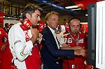 Marco Mattiacci (ITA), Scuderia Ferrari Director of the Gestione Sportiva - Luca di Montezemolo (ITA), Scuderia Ferrari, FIAT Chairman and President of Ferrari<br /> for the complete Middle East, Austria &amp; Germany Media usage only!<br />  Foto &copy; nph / Mathis