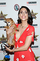 LOS ANGELES - FEB 29:  Jade Catta-Preta at the Beverly Hills Dog Show Presented by Purina at the LA County Fairplex on February 29, 2020 in Pomona, CA