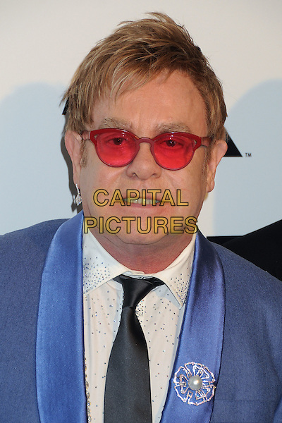 22 February 2015 - West Hollywood, California - Elton John. 23rd Annual Elton John Oscar Viewing Party held at West Hollywood Park. <br /> CAP/ADM/BP<br /> &copy;BP/ADM/Capital Pictures