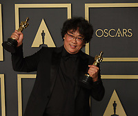 09 February 2020 - Hollywood, California -     Bong Joon-ho attends the 92nd Annual Academy Awards presented by the Academy of Motion Picture Arts and Sciences held at Hollywood & Highland Center. Photo Credit: Theresa Shirriff/AdMedia