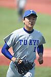 Kohei Miyadai,<br /> MAY 21, 2016 - Baseball : Kohei Miyadai of Tokyo University during the Tokyo Big 6 Baseball League Spring game between Hosei University 1-4 Tokyo University at Jingu Stadium in Tokyo, Japan.<br /> (Photo by Hitoshi Mochizuki/AFLO)