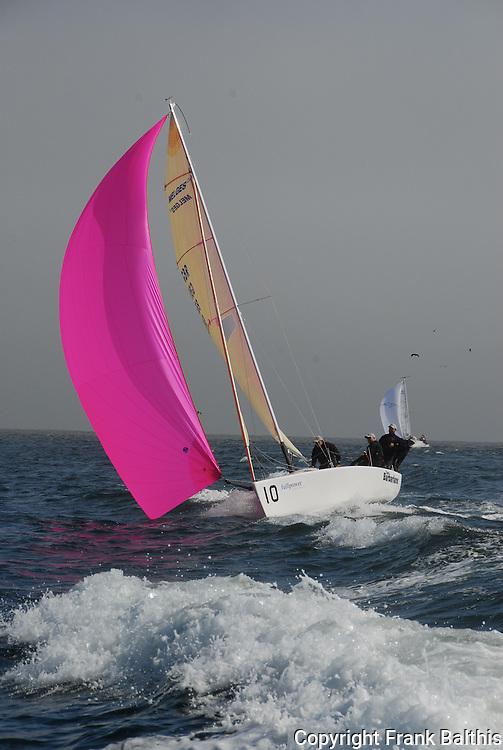 Sailing Melges 24 in Monterey Bay