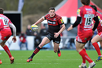 Joel Tomkins in possession. Aviva Premiership match, between Saracens and London Welsh on March 3, 2013 at Allianz Park in London, England. Photo by: Patrick Khachfe / Onside Images