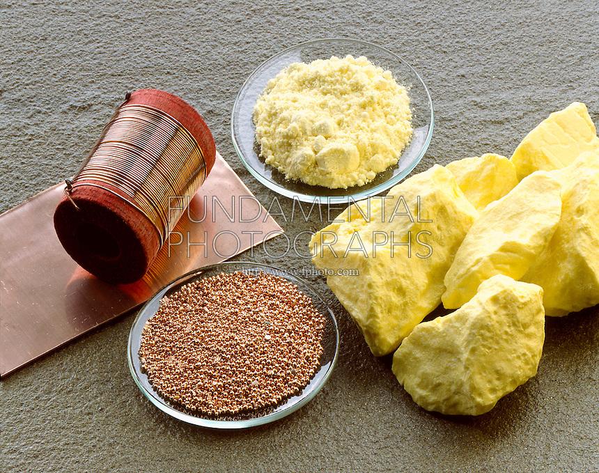 science element copper sulfur | Fundamental Photographs ...