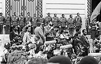 19 ottobre 1986, in un incidente aereo muore il primo presidente della Repubblica del Mozambico Samora Machel, eroe nazionale, padre dell'indipendenza dal Portogallo.