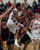 Fenton at Holly, Boys Varsity Basketball, 2/14/12