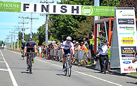 Brisbane Continental's Jordan Kerby wins stage five of the 2018 NZ Cycle Classic UCI Oceania Tour (Masterton criterium) in Masterton, New Zealand on Friday, 21 January 2018. Photo: Dave Lintott / lintottphoto.co.nz