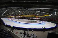 SCHAATSEN: THIALF: Heerenveen, 01-12-2011, ijsstadion, binnen, overzicht, ©foto: Martin de Jong