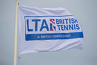 An LTA flag flies outside Nottingham Tennis Centre<br /> <br /> Photographer Alex Dodd/CameraSport<br /> <br /> Tennis - WTA World Tour - Nature Valley Open Tennis Tournament - Day 3 - Wednesday 13th June 2018 - Nottingham Tennis Centre - Nottingham<br /> <br /> World Copyright &copy; 2018 CameraSport. All rights reserved. 43 Linden Ave. Countesthorpe. Leicester. England. LE8 5PG - Tel: +44 (0) 116 277 4147 - admin@camerasport.com - www.camerasport.com
