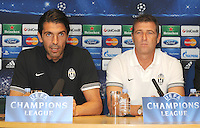 London - Chelsea v Juventus - Champions League Press Conference at Stamford Bridge, London - September 18th 2012..Photo by Bob Kent...