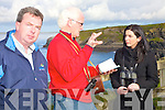Duncoun Stewart, Alyson Healy, Padraig Hanrahan, Maria Ismair, Michael Lemass, and Peter Dorney. filming at the nun's strand in Ballybunion on Sunday morning. .