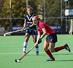 AMSTELVEEN  - Elin van Erk (Lar) , hoofdklasse hockeywedstrijd dames Pinole-Laren (1-3). COPYRIGHT  KOEN SUYK