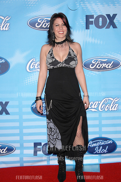 Gina Glocksen at a party at the Pacific Design Centre to celebrate the Top 12 Finalists of this year's American Idol..March 9, 2007  Los Angeles, CA.Picture: Paul Smith / Featureflash