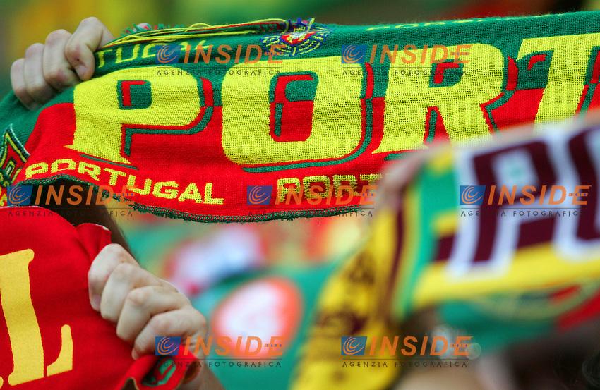 Koln 11/6/2006 World Cup 2006.Angola Portugal - Angola Portogallo 0-1.Photo Andrea Staccioli Insidefoto.Tifosi portoghesi