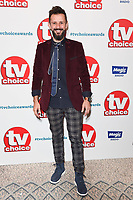 LONDON, UK. September 10, 2018: Max McMurdo at the TV Choice Awards 2018 at the Dorchester Hotel, London.<br /> Picture: Steve Vas/Featureflash