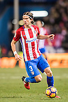 Filipe Luis of Atletico de Madrid in action during their La Liga 2016-17 match between Atletico de Madrid vs Real Betis Balompie at the Vicente Calderon Stadium on 14 January 2017 in Madrid, Spain. Photo by Diego Gonzalez Souto / Power Sport Images
