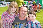 Danielle, Jerry and Jerimiah Flynn Castleisland enjoying the Tralee District dog show in Castleisland on Saturday ..