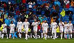 Real Madrid Team during La Liga match. Aug 24, 2019. (ALTERPHOTOS/Manu R.B.)