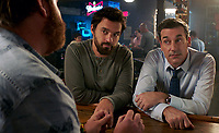 Tag (2018)  <br /> JAKE JOHNSON as Randy &quot;Chilli&quot; Cilliano and JON HAMM as Bob Callahan<br /> *Filmstill - Editorial Use Only*<br /> CAP/MFS<br /> Image supplied by Capital Pictures