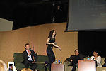 """Alicia Minshew dancing  - A Tribute to Pine Valley - All My Children's Alicia Minshew """"Kendall"""" and Jacob Young """"ex JR and """"Rick Forrester"""" on The Bold anancingd the Beautiful on February 16, 2013 with fans for Q&A, autographs, photos at Foxwoods Resorts Casino in Mashantucket, CT and February 17, 2013 at Valley Forge Casino Resort in King of Prussia, PA. (Photo by Sue Coflin/Max Photos)"""