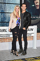 Carly Stenson and Danny Mac<br /> at the premiere of &quot;The Girl on the Train&quot;, Odeon Leicester Square, London.<br /> <br /> <br /> &copy;Ash Knotek  D3156  20/09/2016