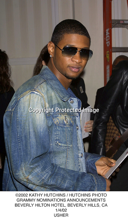 ©2002 KATHY HUTCHINS / HUTCHINS PHOTO.GRAMMY NOMINATIONS ANNOUNCEMENTS.BEVERLY HILTON HOTEL, BEVERLY HILLS, CA.1/4/02.USHER