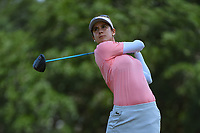 Azahara Munoz (ESP) watches her tee shot on 2 during round 4 of the 2019 US Women's Open, Charleston Country Club, Charleston, South Carolina,  USA. 6/2/2019.<br /> Picture: Golffile | Ken Murray<br /> <br /> All photo usage must carry mandatory copyright credit (© Golffile | Ken Murray)