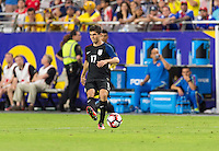Glendale, AZ - Saturday June 25, 2016: Christian Pulisic during a Copa America Centenario third place match match between United States (USA) and Colombia (COL) at University of Phoenix Stadium.
