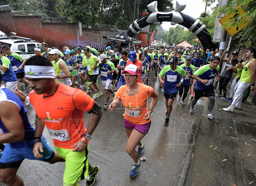CALI -COLOMBIA. 26-06-2016. Carrera Cristo Rey 7K Under Armour realizada el 26 de junio de 2016 en la ciudad de Cali. / Cristo Rey 7K Race Under Armour held 26 June 2016 at Cali city. Photo: VizzorImage/ Gabriel Aponte / Staff
