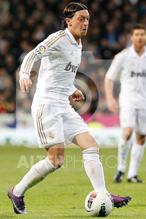 Real Madrid's Mesut Ozil during la Liga match on march 18th 2012...Photo: Alex Cid-Fuentes / ALFAQUI