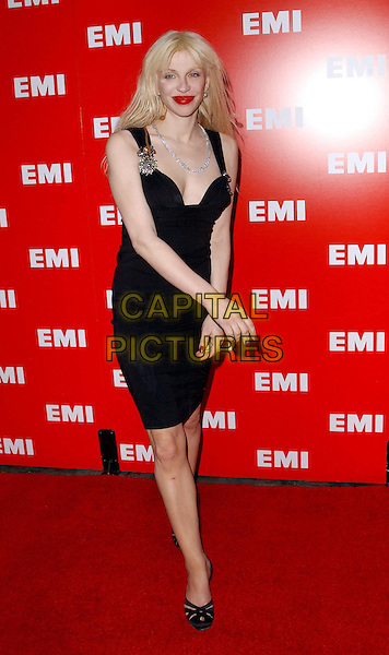 COURTNEY LOVE.EMI Post Grammy Party held at The Los Angeles County Museum of Art in Los Angeles, California .8 February 2004                                                                      *UK Sales Only*.full length, full-length, little black dress .www.capitalpictures.com.sales@capitalpictures.com.©Capital Pictures.