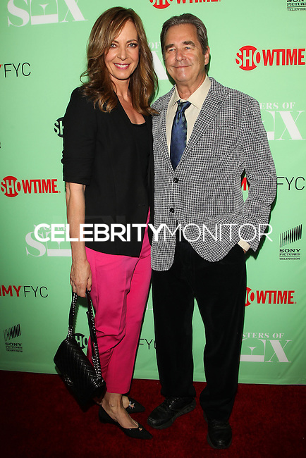 "NORTH HOLLYWOOD, CA, USA - APRIL 29: Allison Janney, Beau Bridges at Showtime's ""Masters Of Sex"" Special Screening And Panel Discussion held at the Leonard H. Goldenson Theatre on April 29, 2014 in North Hollywood, California, United States. (Photo by Celebrity Monitor)"