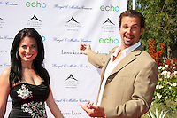 Alissa Sutton & Paulo Benedeti.arrives at the Birgit C. Muller Fashion Show at.Chaves Ranch in.Los Angeles, CA on.July 11, 2010.©2010 Kathy Hutchins / Hutchins Photo.....