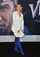 "LOS ANGELES, CA. October 01, 2018: Allison Holker at the world premiere for ""Venom"" at the Regency Village Theatre.<br /> Picture: Paul Smith/Featureflash"