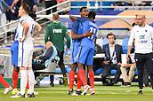 June 13th 2017, Stade de France, Paris, France; International football friendly, France versus England;  06 PAUL POGBA (fra) celebrates their winning goal