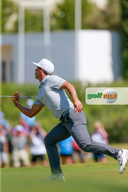 Thorbjorn Olesen (DEN) on the 9th during the 1st round of the 2017 Portugal Masters, Dom Pedro Victoria Golf Course, Vilamoura, Portugal. 21/09/2017<br />