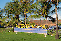 Puerto Maya Sign In Cozumel, Mexico