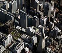aerial photograph financial district San Francisco, California