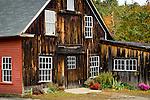 Fall foliage, Hillsborough Lower Village, NH, USA