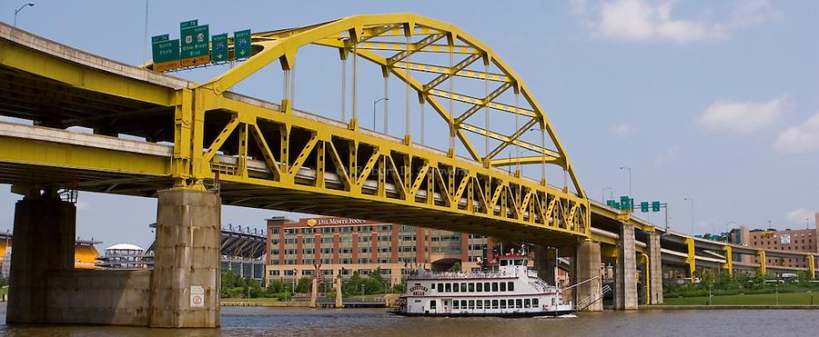 Pittsburgh Bridges -  Ft Duquesne Bridge
