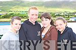 Having fun at the Caherciveen regatta on Sunday was l-r: Cliona Ross Killorglin RC, Roisin O'Shea, Erin Carr and Emma Joy Cromane RC    Copyright Kerry's Eye 2008