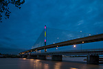 Color Growth by Anthony McCarty |  Toledo Veteran's Glass City Skyway Bridge | HLB Lighting