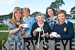 The Killarney branch of the Friends of the Children of Chernobyl held a very successful coffee morning at the Killarney Golf and Fishing club last Thursday to raise funds for the organisation. .Back L-R Lady Captain Noreen Buckley and Angela O'Connor.Front L-R Geraldine Courtney, Chairperson of the Friends of  the Children of Chernobyl Killarney Branch Betty Crosbie and Presidnt of Killarney Golf and Fishing club, Maureen Somers.