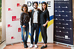 "Monica Cruz, director Juanma R. Pachon and Dafne Fernandez attends to the photocall of the presentation of conferences ""Series juveniles que marcaron una generacion"" by Dirige Association in Madrid, Spain. March 27, 2017. (ALTERPHOTOS/BorjaB.Hojas)"