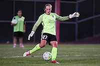 Piscataway, NJ - Sunday Sept. 25, 2016: Caroline Casey during a regular season National Women's Soccer League (NWSL) match between Sky Blue FC and the Portland Thorns FC at Yurcak Field.