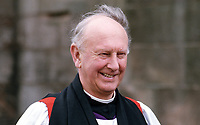 Most Rev Donald Caird, Church of Ireland Archbishop of Dublin, April 1986, 19860402DC.<br /> <br /> Copyright Image from Victor Patterson,<br /> 54 Dorchester Park, <br /> Belfast, UK, BT9 6RJ<br /> <br /> t1: +44 28 9066 1296 (from Rep of Ireland 048 9066 1296)<br /> t2: +44 28 9002 2446 (from Rep of Ireland 048 9002 2446)<br /> <br /> m: +44 7802 353836<br /> <br /> e: victorpatterson@me.com<br /> www.victorpatterson.com<br /> <br /> Please see my Terms and Conditions of Use at www.victorpatterson.com. It is IMPORTANT that you familiarise yourself with them.<br /> <br /> Images used on the Internet must be visibly watermarked i.e. © Victor Patterson<br /> within the body of the image and copyright metadata must not be deleted. Images <br /> used on the Internet have a size restriction of 4kbs and will be chargeable at current<br />  NUJ rates unless agreed otherwise.<br /> <br /> This image is only available for the use of the download recipient i.e. television station, newspaper, magazine, book publisher, etc, and must not be passed on to any third <br /> party. It is also downloaded on condition that each and every usage is notified within 7 days to victorpatterson@me.com<br /> <br /> The right of Victor Patterson to be identified as the author is asserted in accordance with The Copyright Designs And Patents Act (1988). All moral rights are asserted.