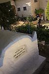 Israel, Upper Galilee, tomb of Rabbi Itzhak From Gush Halav (Jish)
